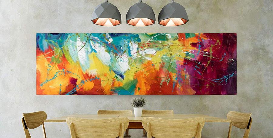 Idee quadri per sala da pranzo