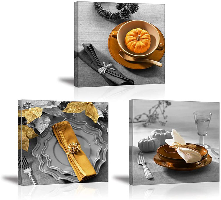 Idee quadri per sala da pranzo classica n.02