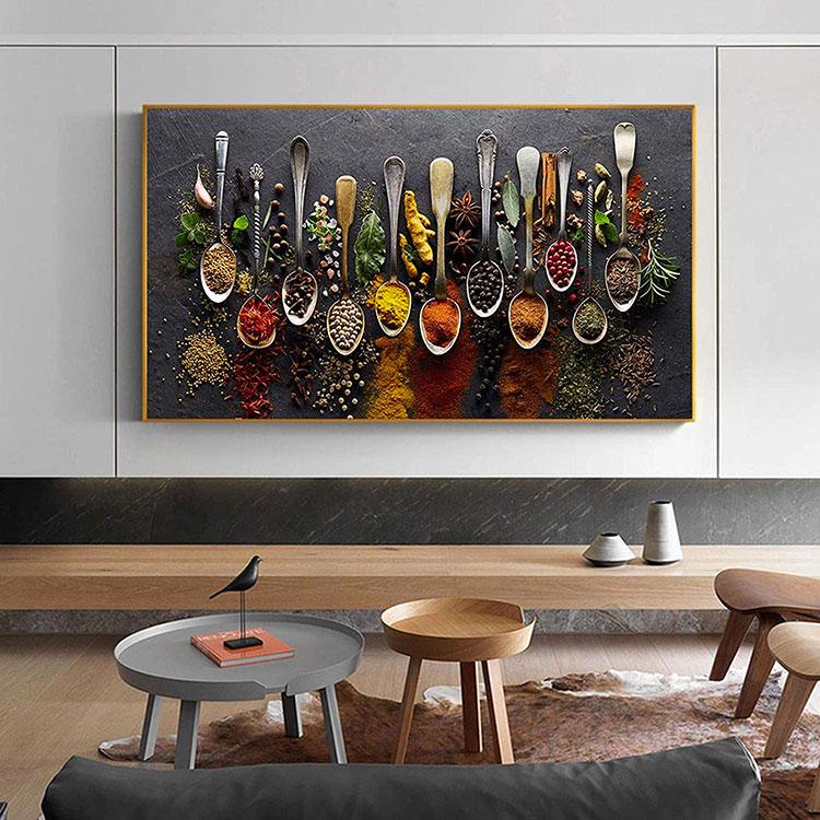 Idee quadri per sala da pranzo moderna n.02