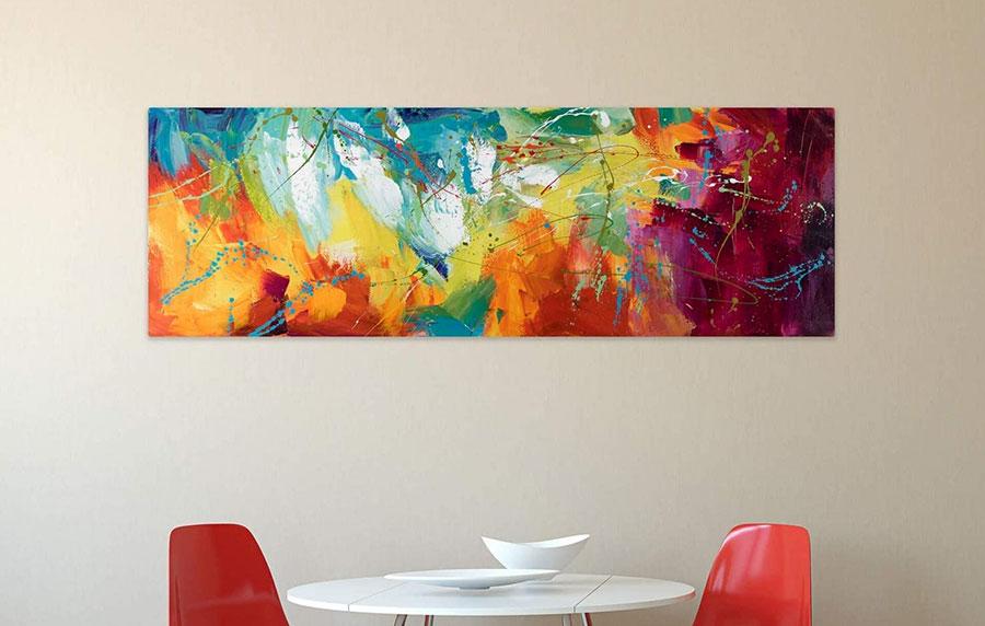 Idee quadri per sala da pranzo moderna n.04