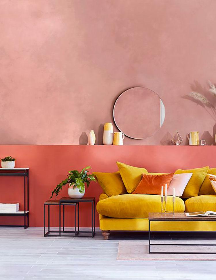 Idee per abbinare senape e rosa