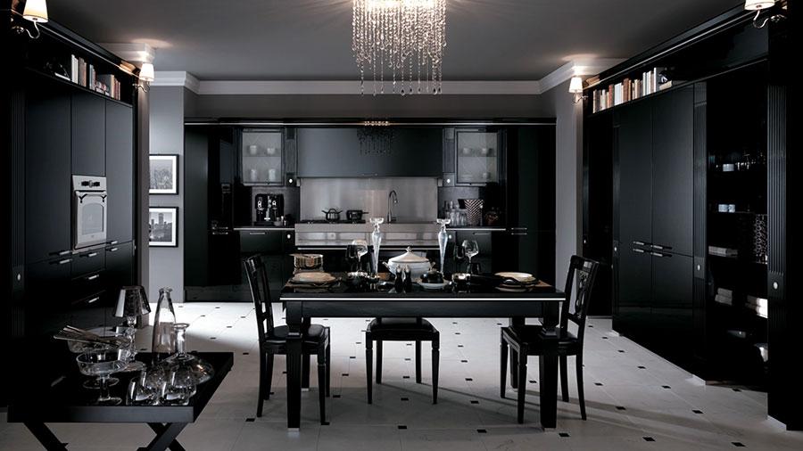 Modello di cucina classica contemporanea n.04