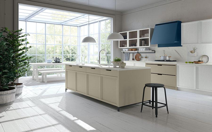 Modello di cucina classica contemporanea n.09