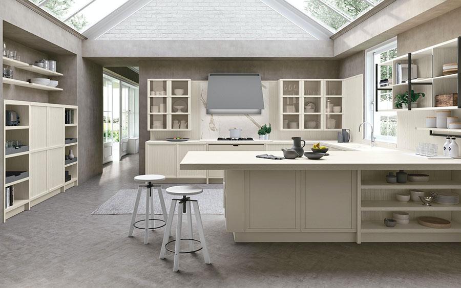Modello di cucina classica contemporanea n.14