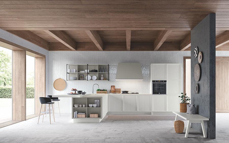 Modello di cucina classica contemporanea n.16