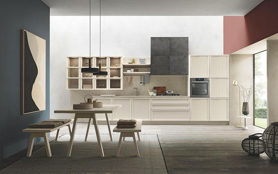 Modello di cucina classica contemporanea n.19