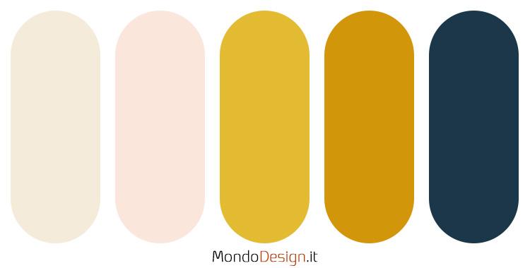 Idee per palette colore senape n.01