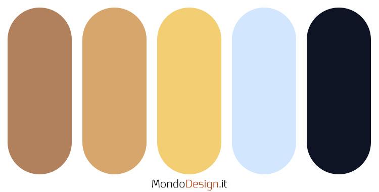 Idee per palette colore senape n.02