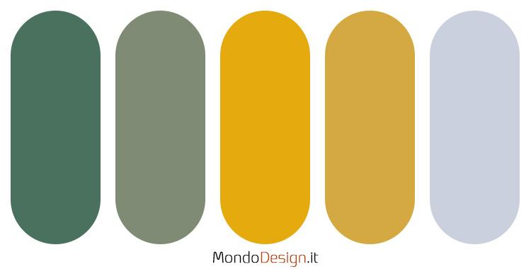 Idee per palette colore senape n.03