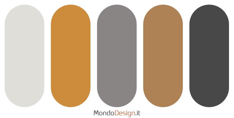 Idee per palette colore senape n.04