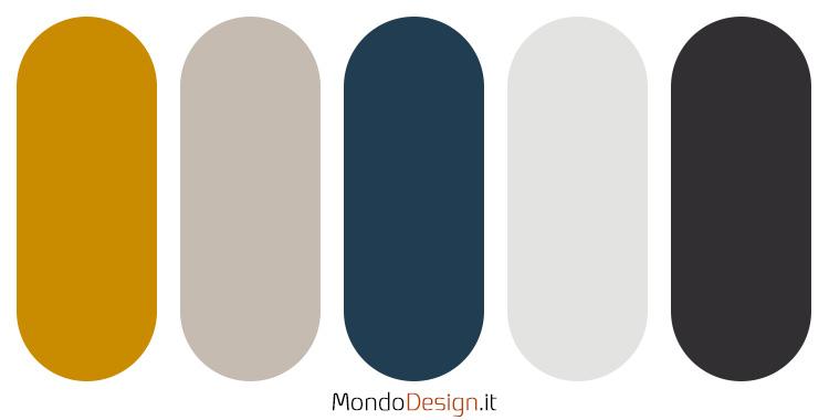 Idee per palette colore senape n.05