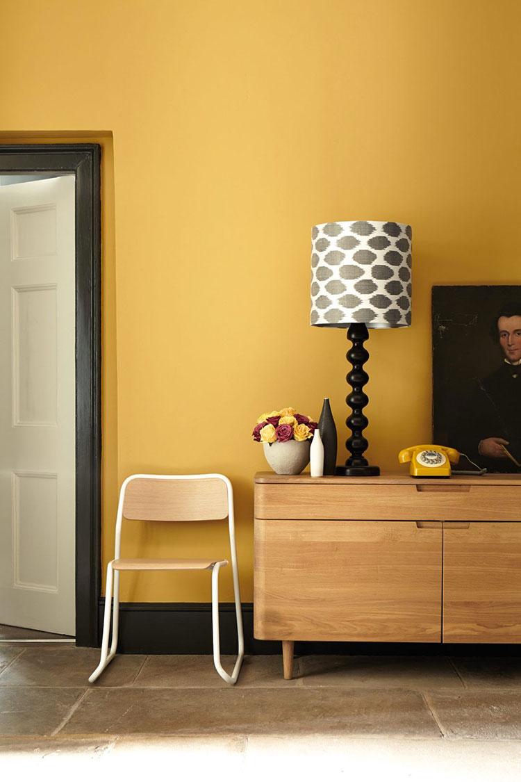 Idee per pareti colore senape n.01