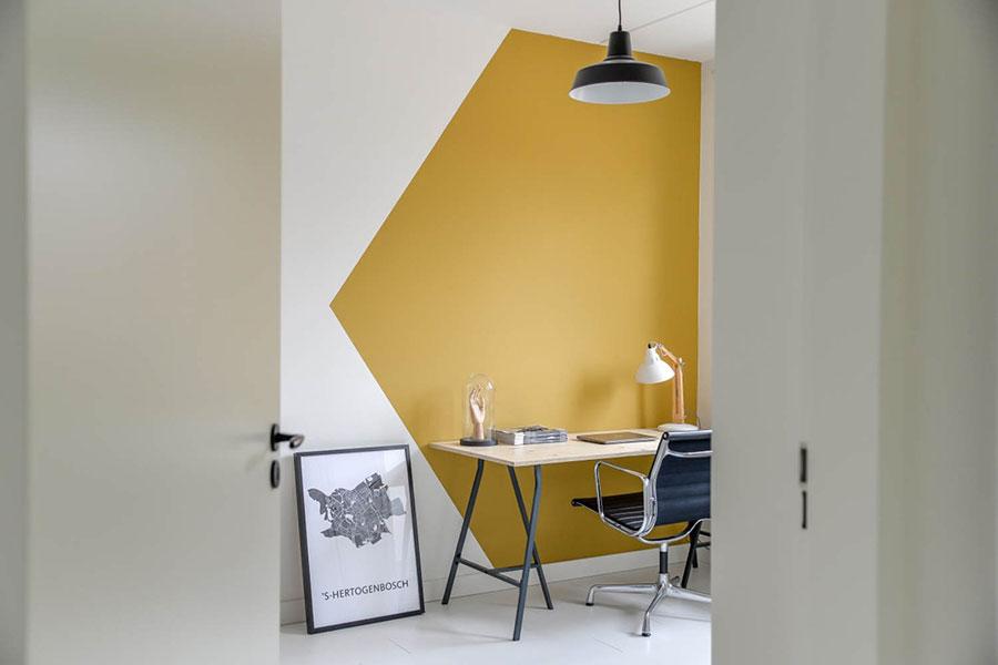 Idee per pareti colore senape n.06