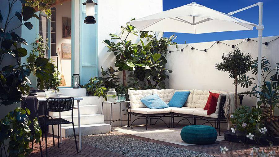 Idee per arredare un giardino Ikea n.01