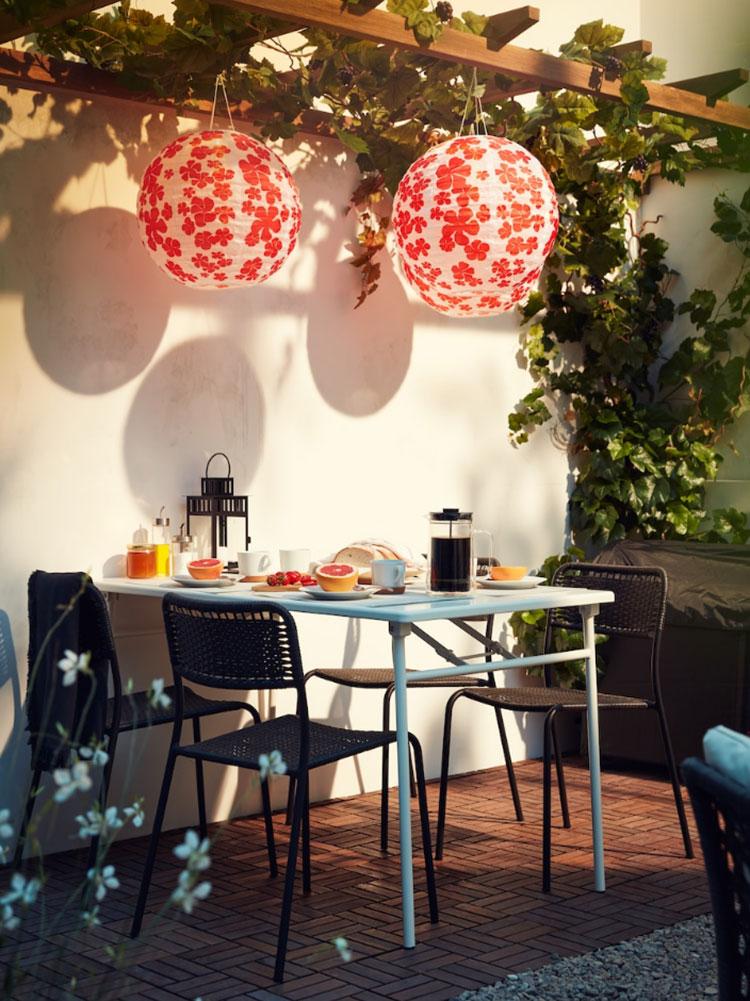 Idee per arredare un giardino Ikea n.02