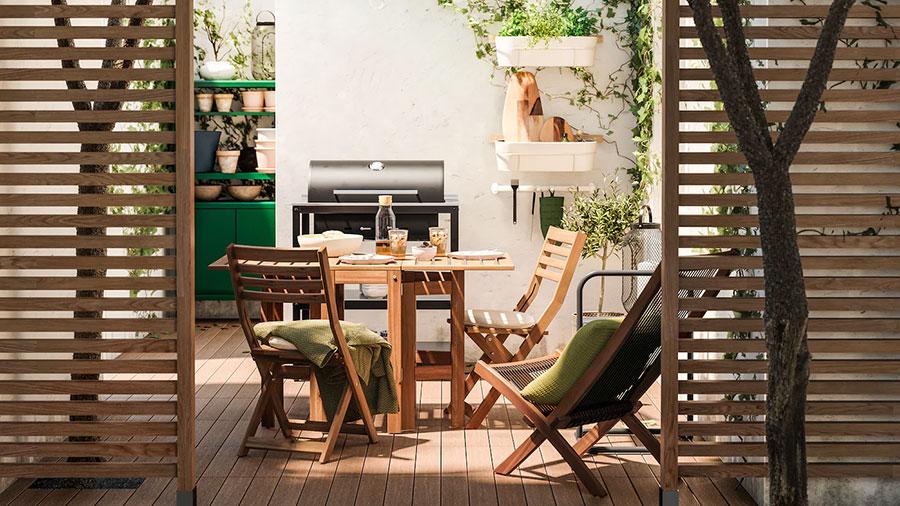 Idee per arredare un giardino Ikea n.07