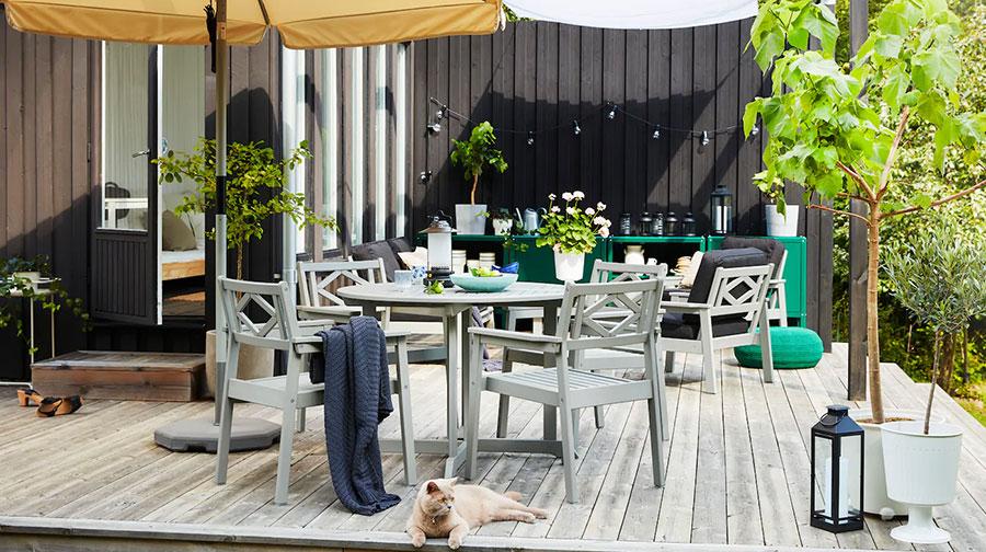 Idee per arredare un giardino Ikea n.08