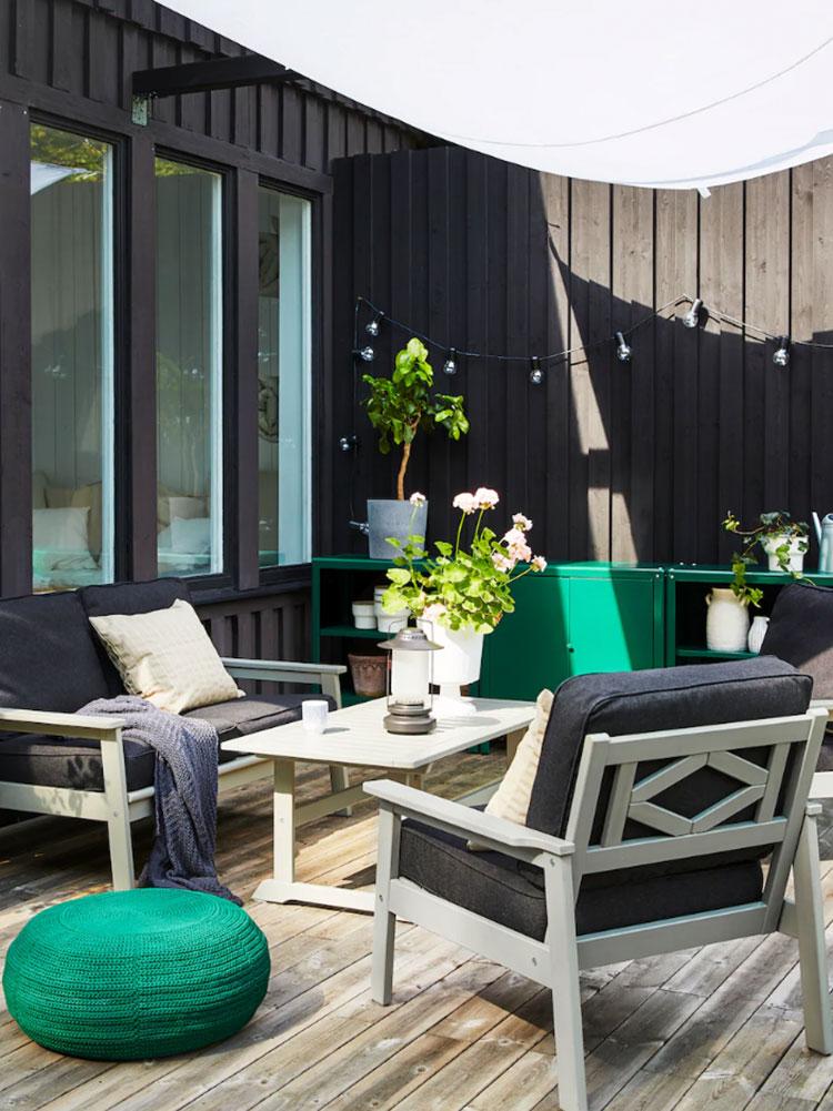 Idee per arredare un giardino Ikea n.09