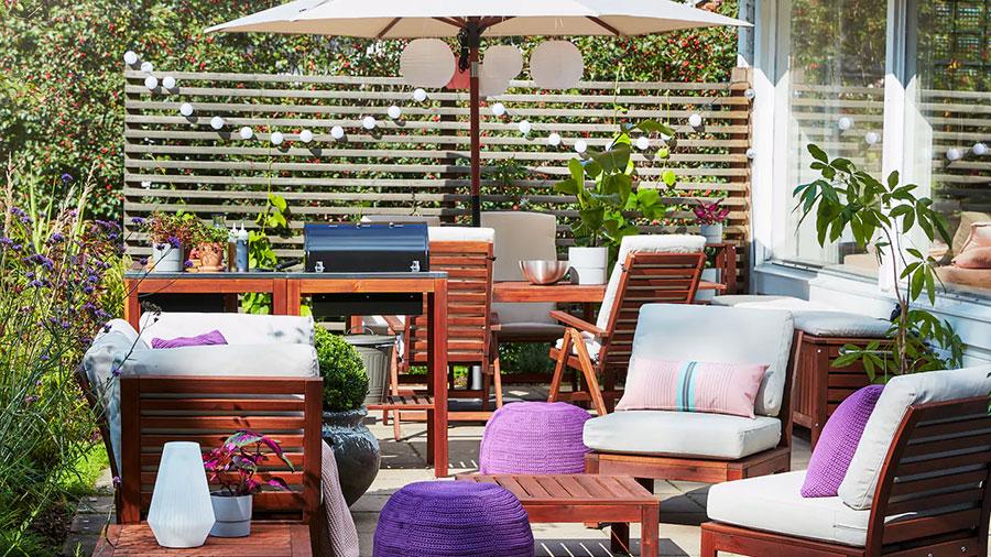 Idee per arredare un giardino Ikea n.10