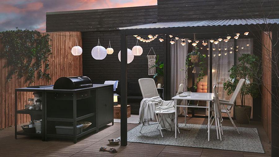 Idee per arredare un giardino Ikea n.18