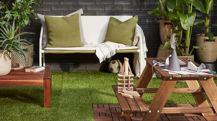 Idee per arredare un giardino Ikea n.19