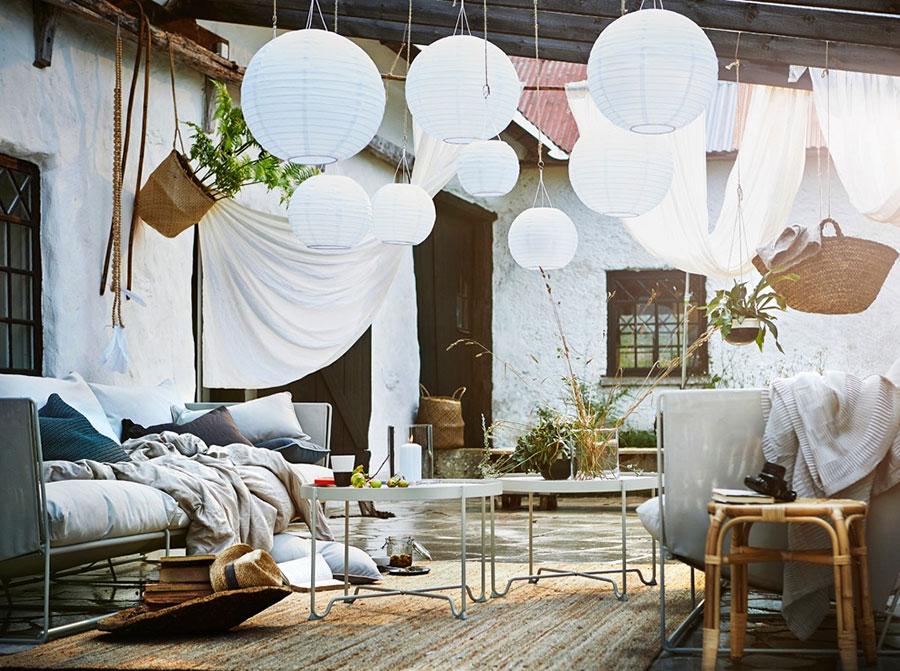 Idee per arredare un giardino Ikea n.23