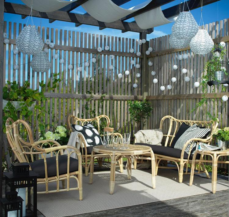 Idee per arredare un giardino Ikea n.25