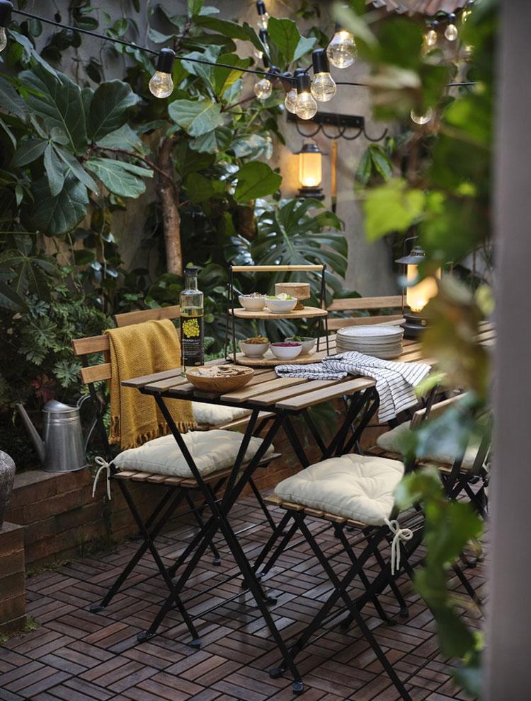 Idee per arredare un giardino Ikea n.27