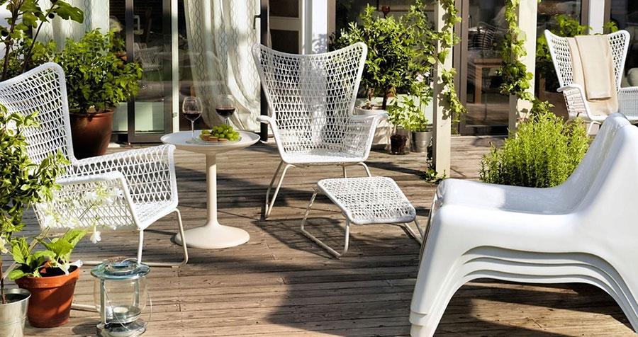 Idee per arredare un giardino Ikea n.29
