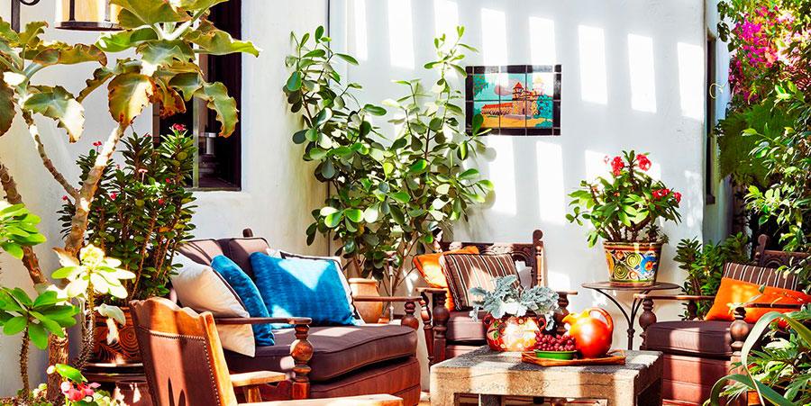 Idee per arredare un balcone con le piante n.02