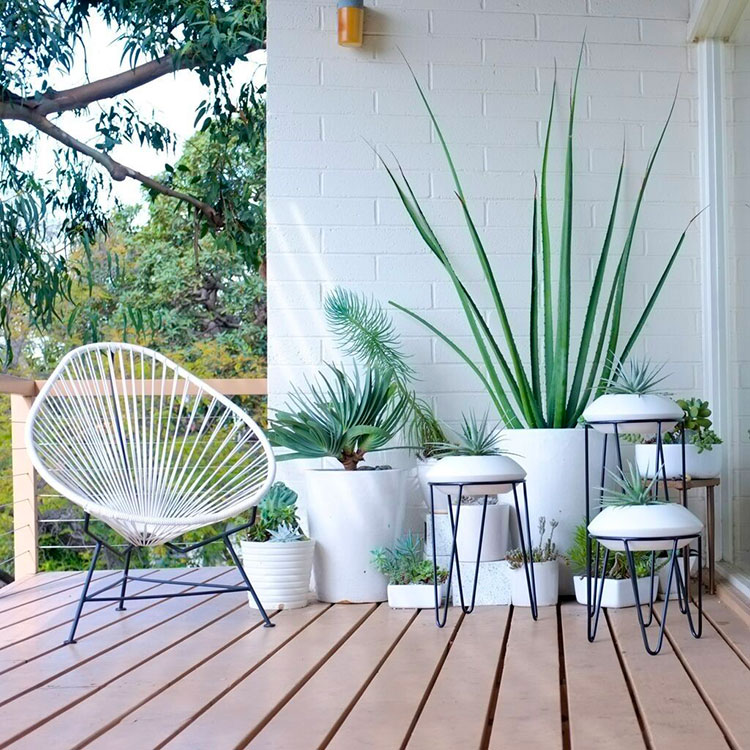 Idee per arredare un balcone con le piante n.04
