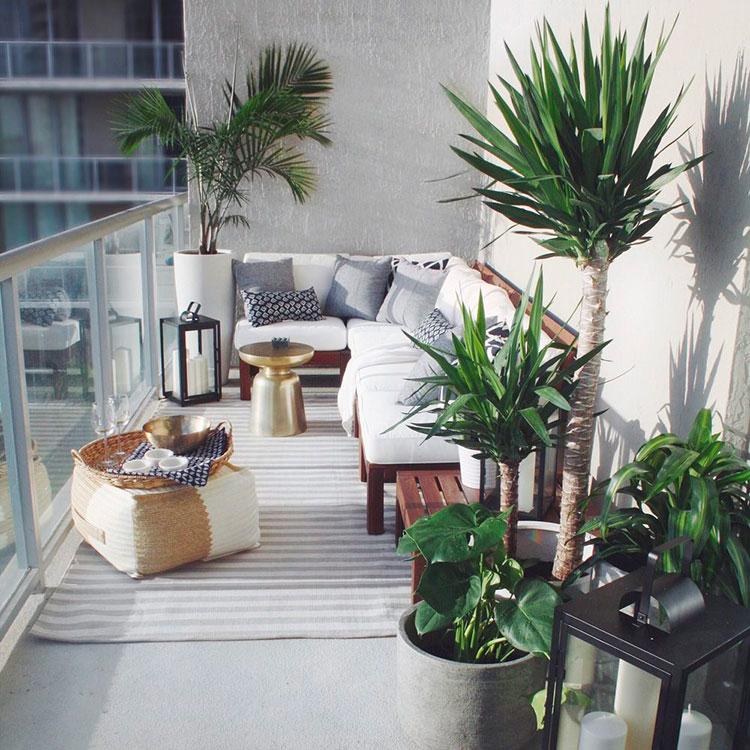 Idee per arredare un balcone con le piante n.05