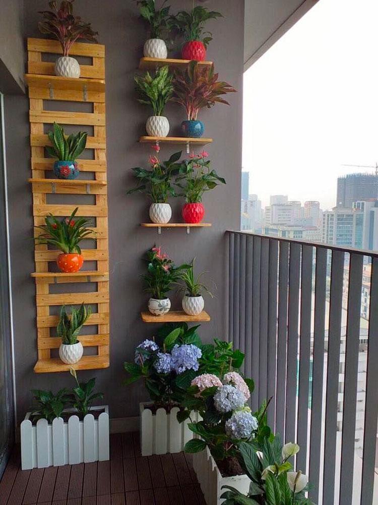 Idee per arredare un balcone con le piante n.07