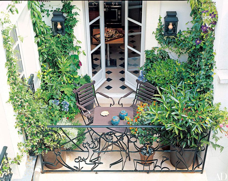 Idee per arredare un balcone con le piante n.08