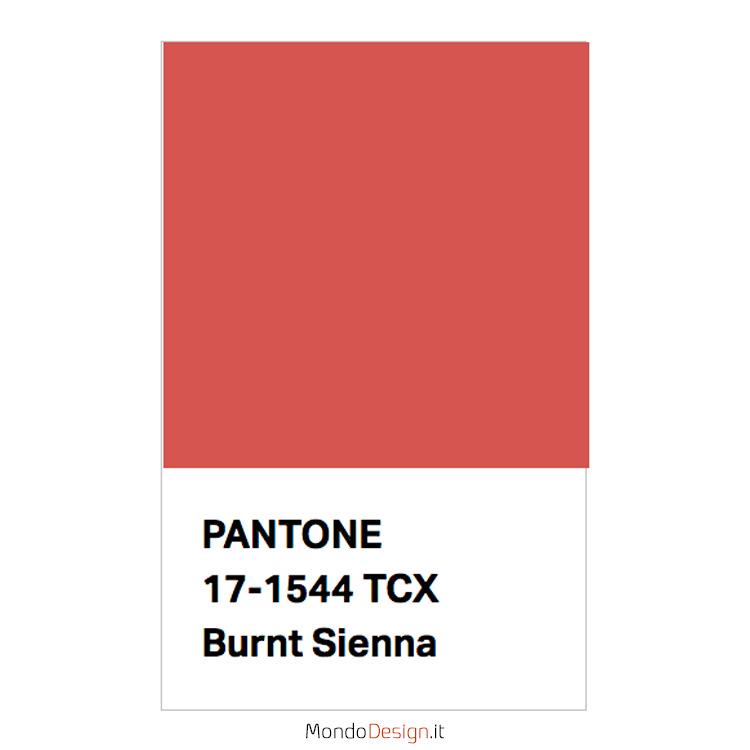 Identificazione del colore terra di Siena Pantone