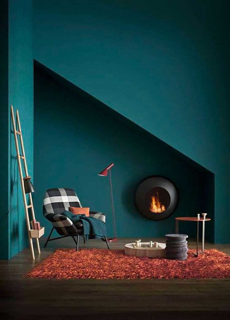 Idee tappeto colore terra di Siena