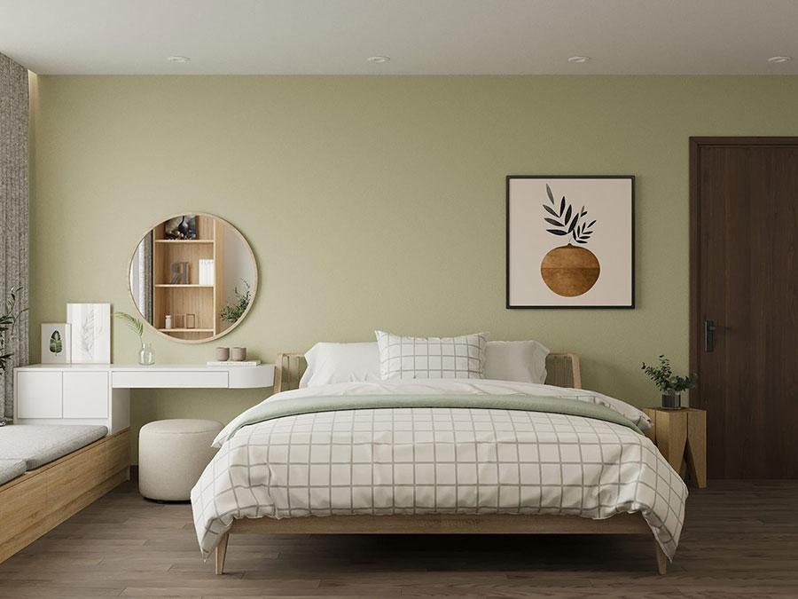 Idee colori rilassanti per la camera da letto n.01