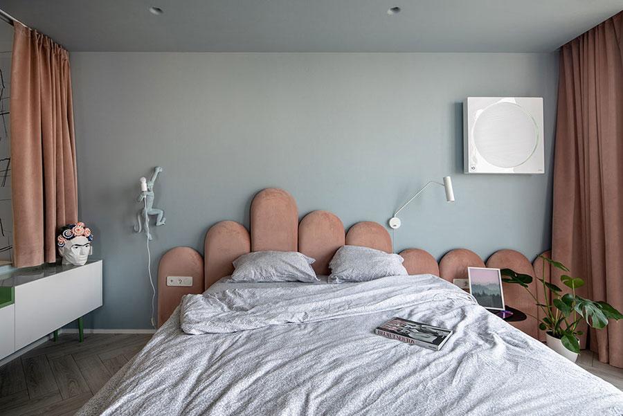 Idee colori rilassanti per la camera da letto n.03