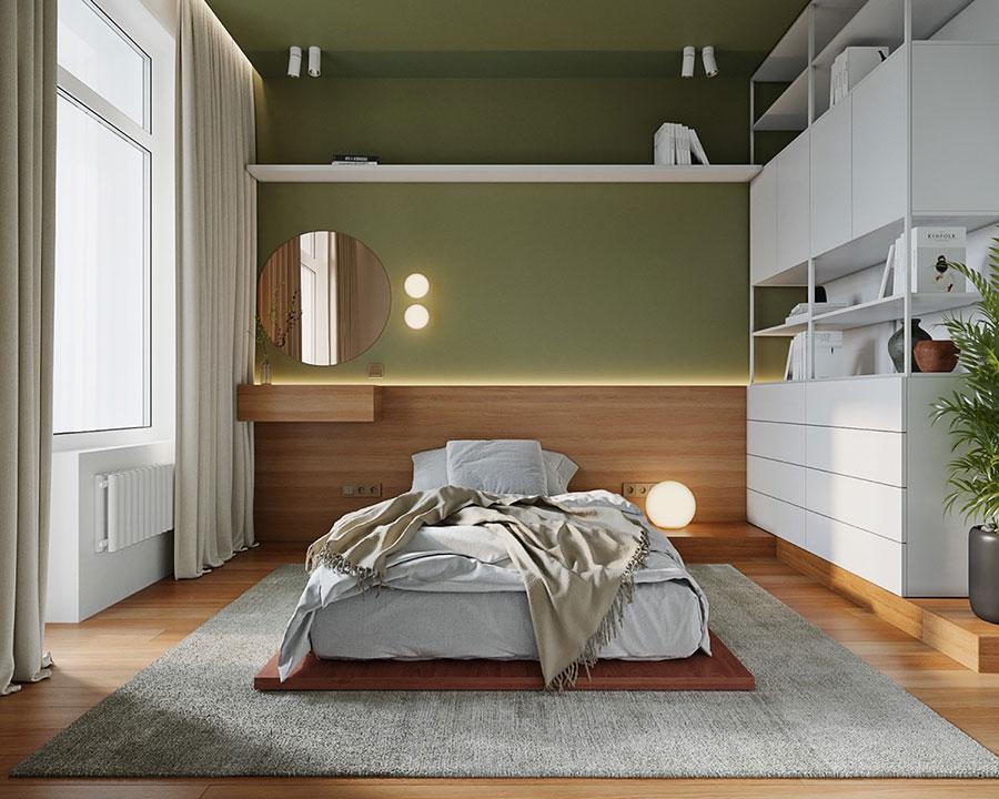 Idee colori rilassanti per la camera da letto n.04