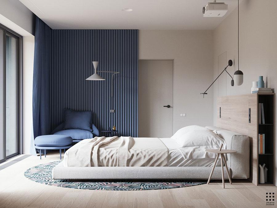 Idee colori rilassanti per la camera da letto n.06