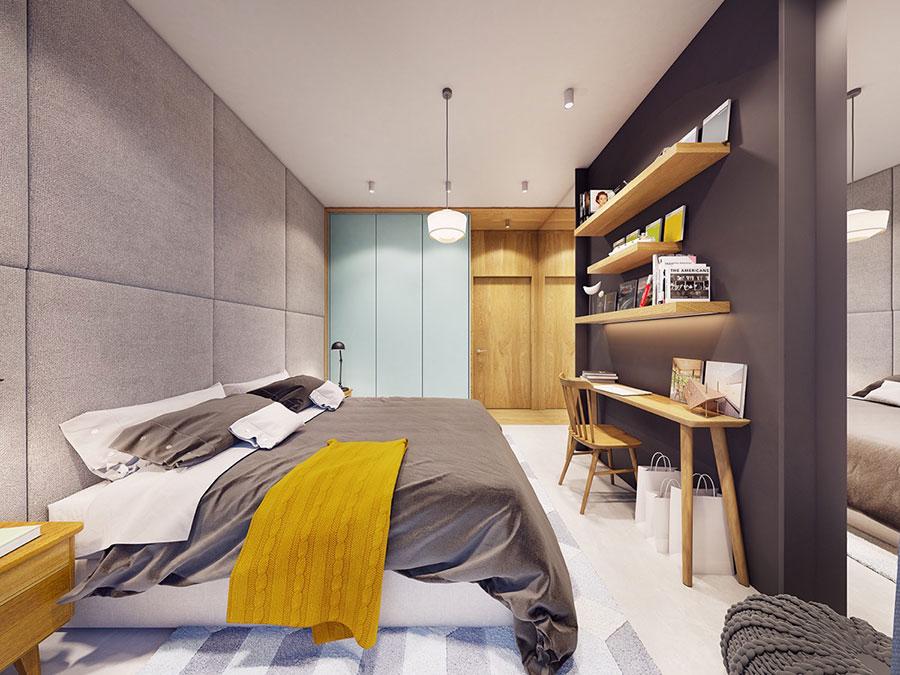 Idee colori rilassanti per la camera da letto n.07