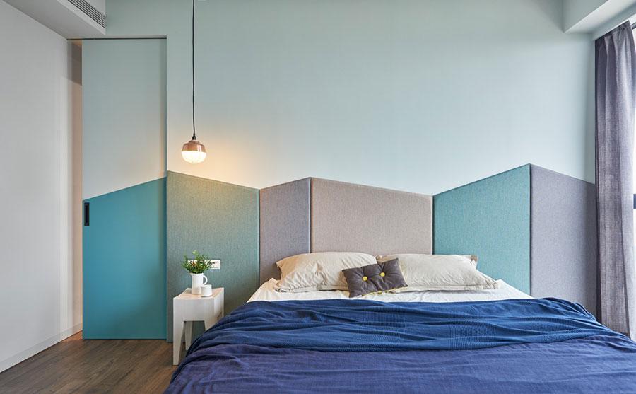 Idee colori rilassanti per la camera da letto n.08