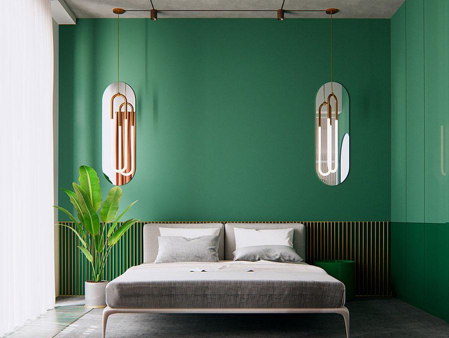 Idee colori rilassanti per la camera da letto n.09