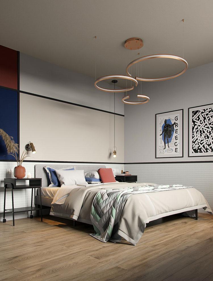 Idee colori rilassanti per la camera da letto n.10