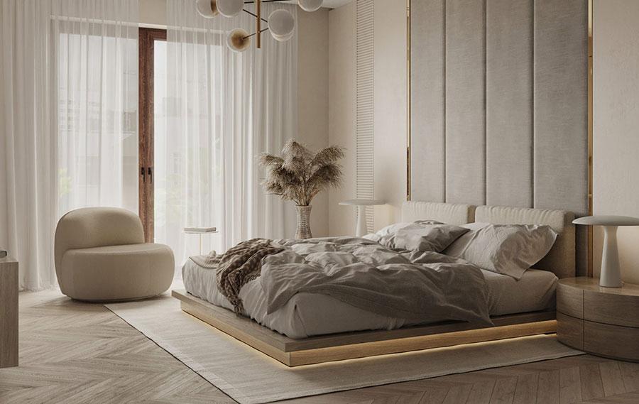 Idee colori rilassanti per la camera da letto n.11