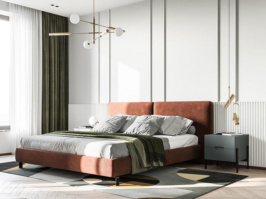 Idee colori rilassanti per la camera da letto n.12