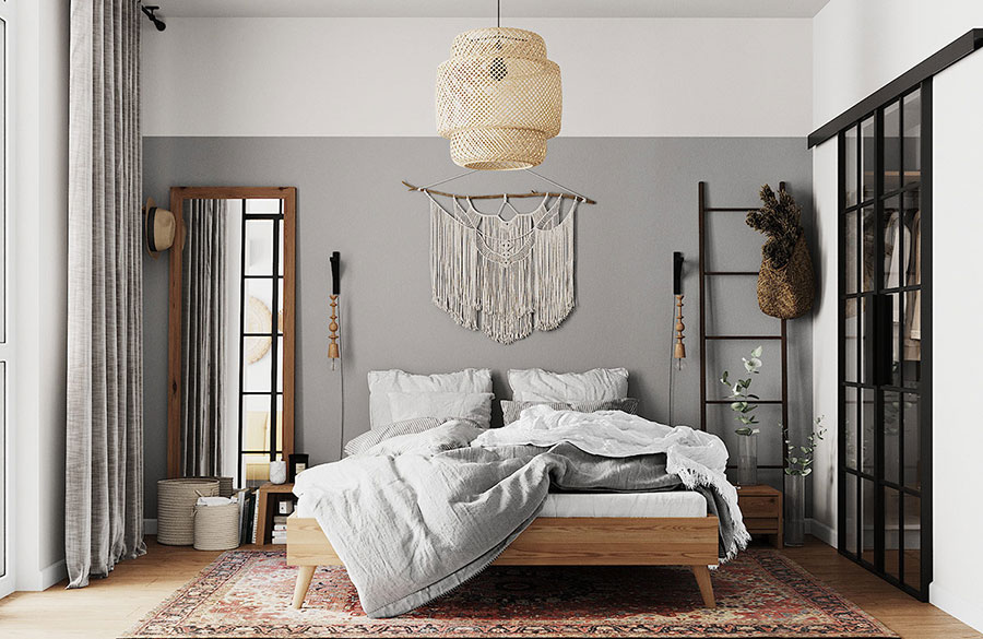 Idee per arredare una camera da letto boho chic n.11