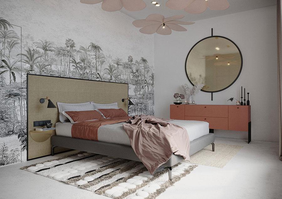 Idee per arredare una camera da letto boho chic n.12