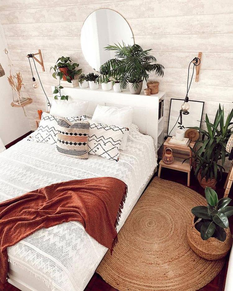 Idee per arredare una camera da letto boho chic n.26