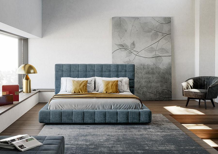 Modello di letto imbottito di Bonaldo n.03